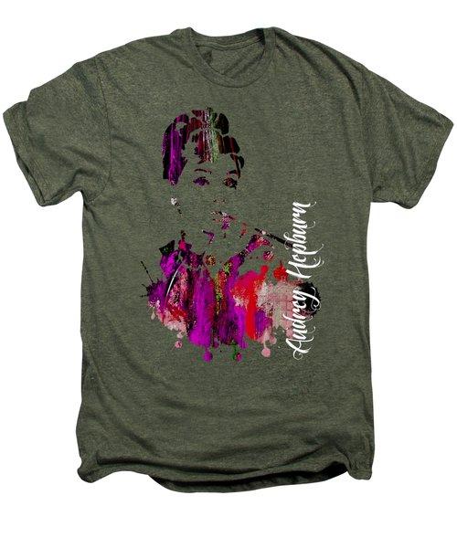 Audrey Hepburn Collection Men's Premium T-Shirt by Marvin Blaine