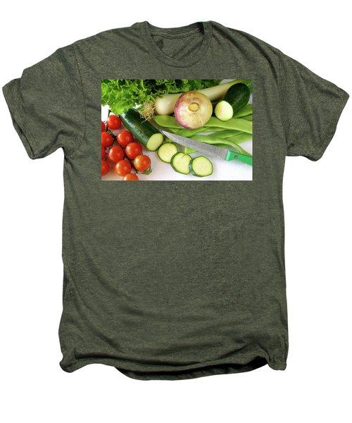 Fresh Vegetables Men's Premium T-Shirt by Carlos Caetano