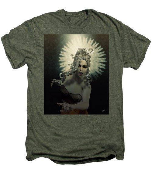 Medusa Men's Premium T-Shirt by Joaquin Abella