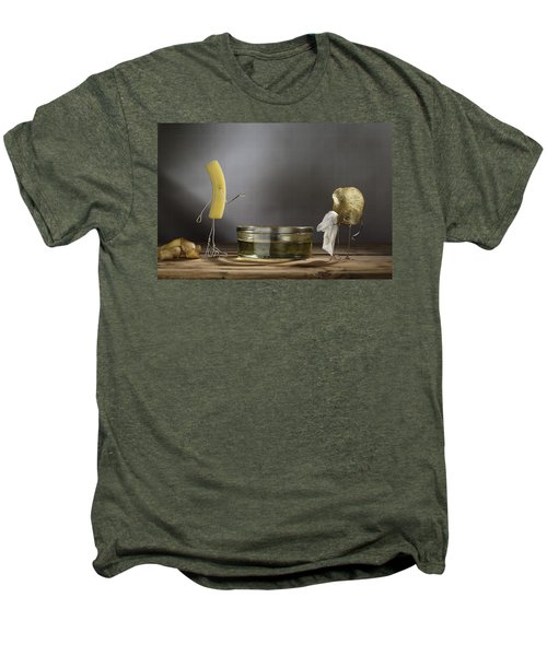 Simple Things - Potatoes Men's Premium T-Shirt by Nailia Schwarz