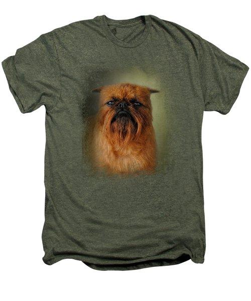 The Brussels Griffon Men's Premium T-Shirt by Jai Johnson