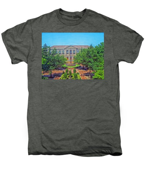 The Old Main - University Of Arkansas Men's Premium T-Shirt by Mountain Dreams
