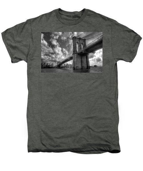 Connect Men's Premium T-Shirt by Johnny Lam