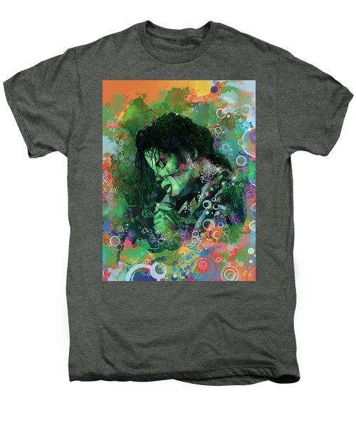 Michael Jackson 15 Men's Premium T-Shirt by Bekim Art