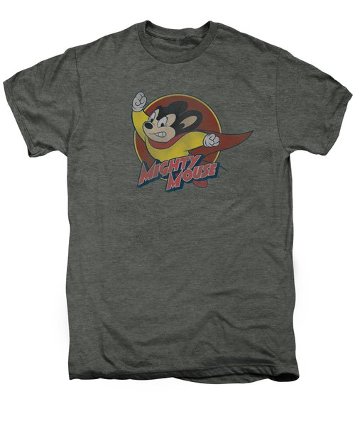 Mighty Mouse - Mighty Circle Men's Premium T-Shirt by Brand A