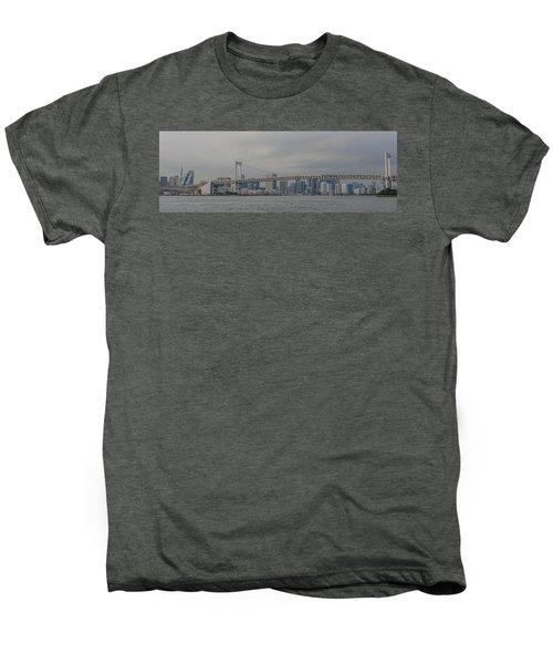 Rainbow Bridge Men's Premium T-Shirt by Megan Martens