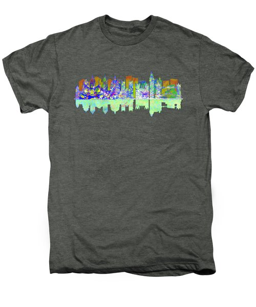 London England Skyline Men's Premium T-Shirt by John Groves