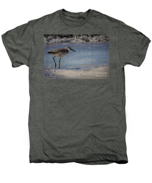 A Walk On The Beach Men's Premium T-Shirt by Marvin Spates