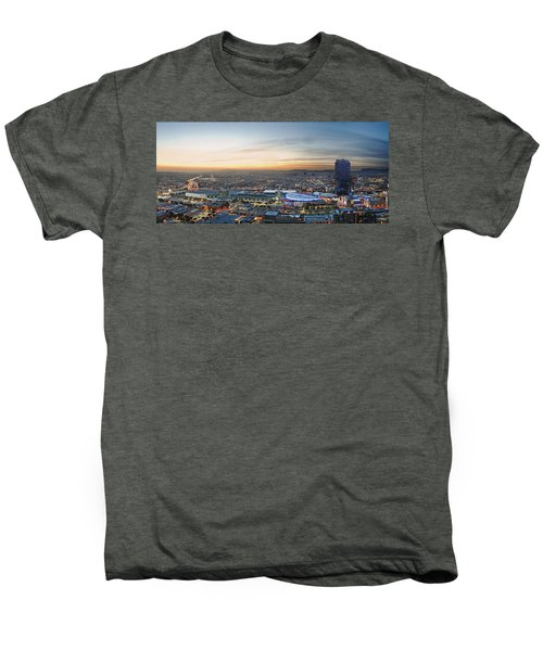 Los Angeles West View Men's Premium T-Shirt by Kelley King