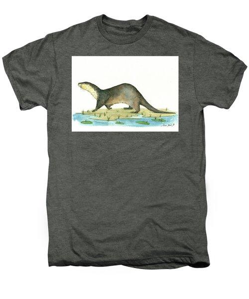 Otter Men's Premium T-Shirt by Juan Bosco