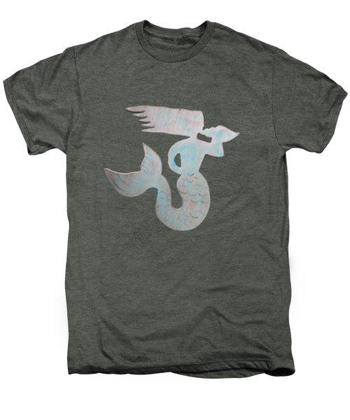 Sea Shell Mermaid Men's Premium T-Shirt by Dale Powell