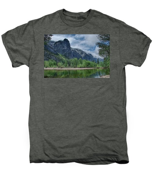 Sentinel Rock After The Storm Men's Premium T-Shirt by Bill Roberts