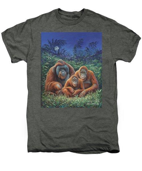 Sumatra Orangutans Men's Premium T-Shirt by Hans Droog
