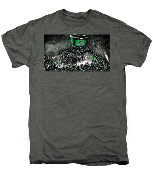 The Boston Celtics 2008 Nba Finals Men's Premium T-Shirt by Brian Reaves