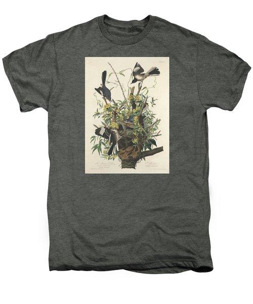 The Mockingbird Men's Premium T-Shirt by John James Audubon