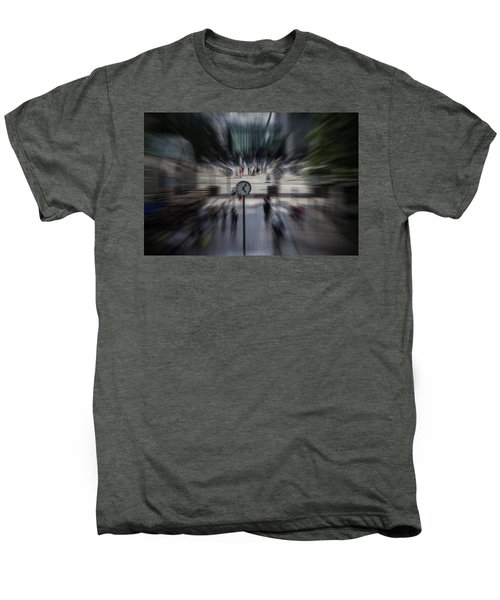 Time Traveller Men's Premium T-Shirt by Martin Newman