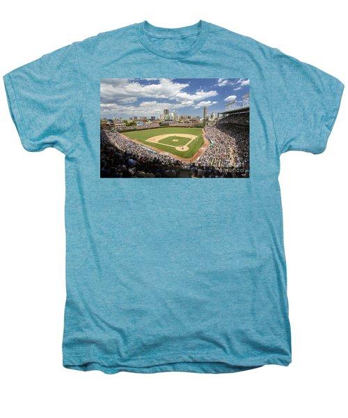 0415 Wrigley Field Chicago Men's Premium T-Shirt by Steve Sturgill