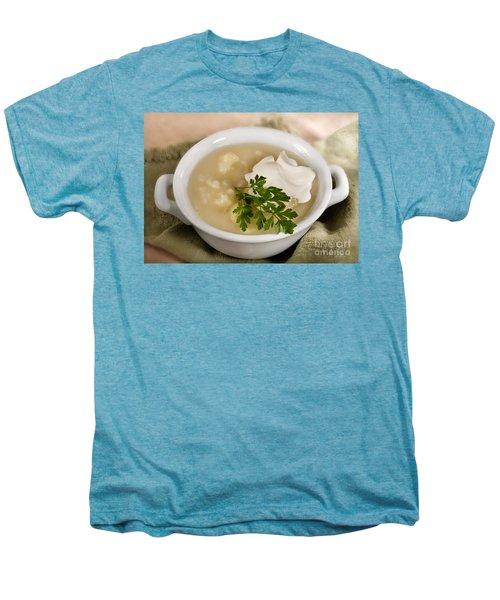 Cauliflower Soup Men's Premium T-Shirt by Iris Richardson