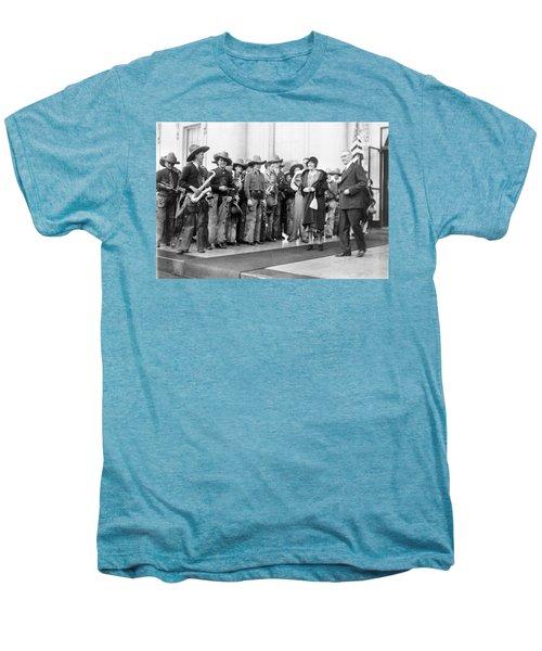 Cowboy Band, 1929 Men's Premium T-Shirt by Granger