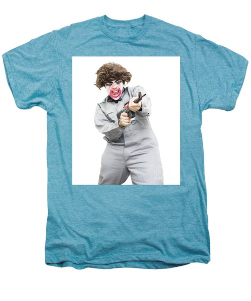Female Psycho Killer Men's Premium T-Shirt by Jorgo Photography - Wall Art Gallery