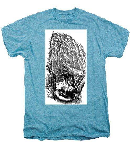 Minotaur, Legendary Creature Men's Premium T-Shirt by Photo Researchers