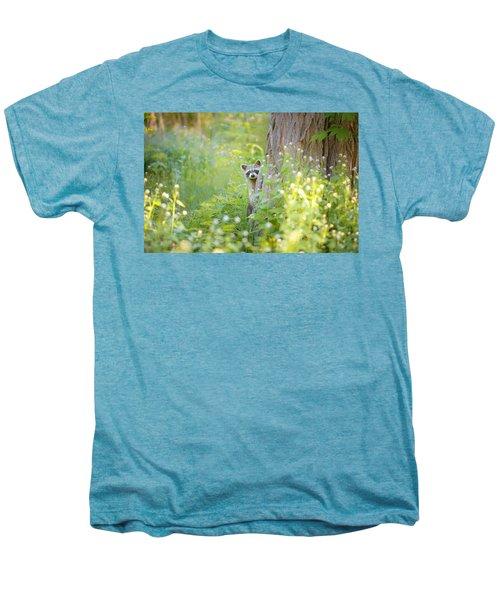 Peek A Boo Men's Premium T-Shirt by Carrie Ann Grippo-Pike