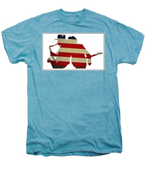 The Big Man And The Boss Men's Premium T-Shirt by Bill Cannon