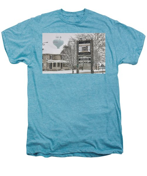 The Whitehouse Inn Sign 7034 Men's Premium T-Shirt by Jack Schultz