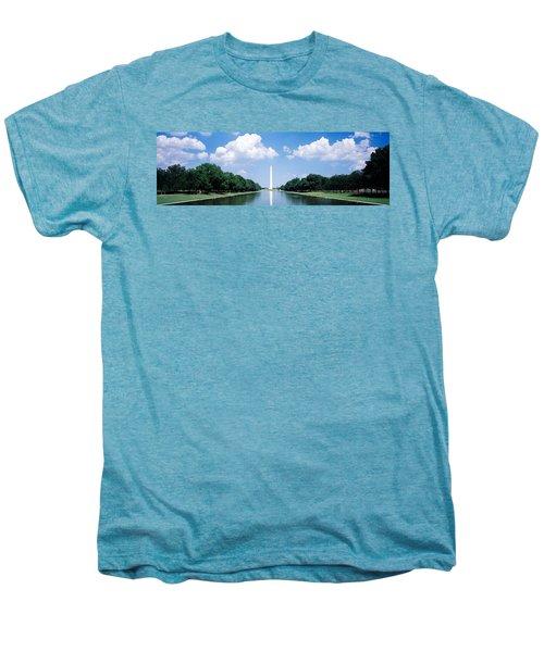 Washington Monument Washington Dc Men's Premium T-Shirt by Panoramic Images