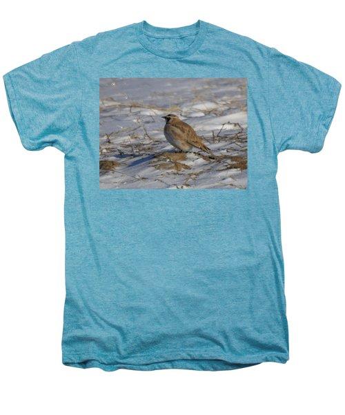 Winter Bird Men's Premium T-Shirt by Jeff Swan
