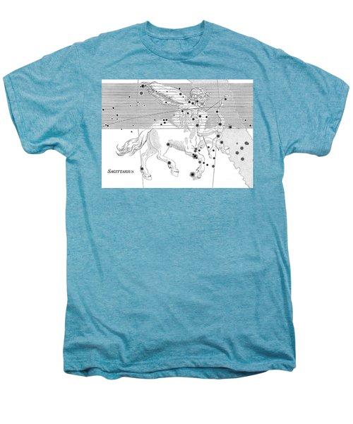 Sagittarius Constellation Zodiac Sign Men's Premium T-Shirt by Science Source