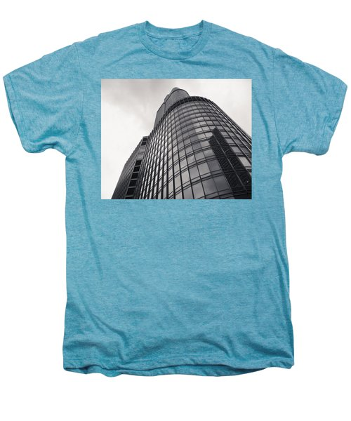 Trump Tower Chicago Men's Premium T-Shirt by Adam Romanowicz