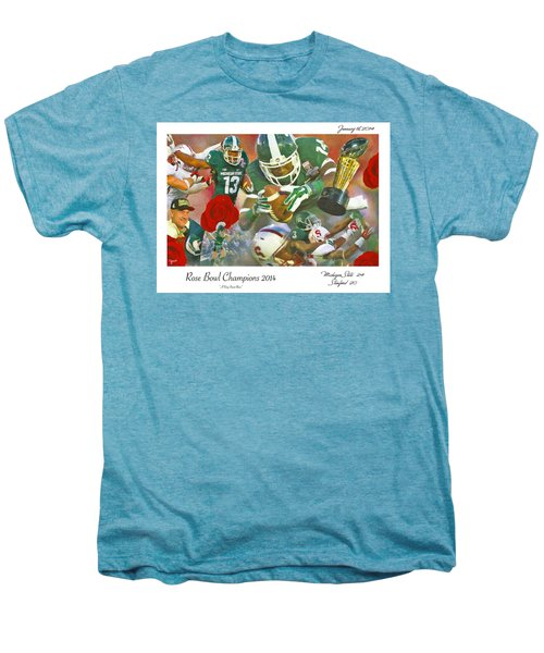 A Very Sweet Rose Men's Premium T-Shirt by John Farr