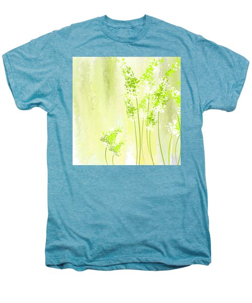 About Spring Men's Premium T-Shirt by Lourry Legarde
