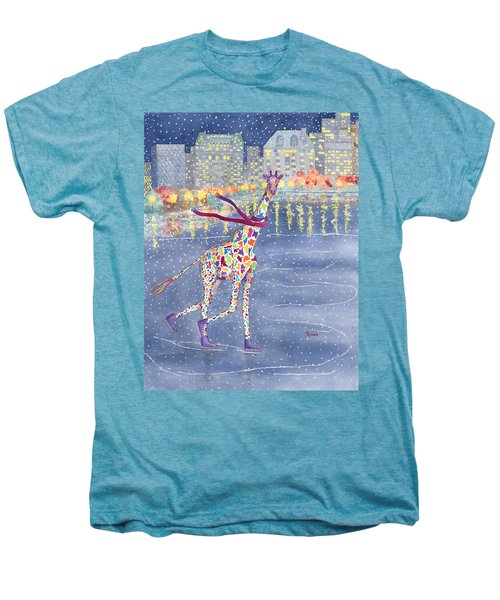 Annabelle On Ice Men's Premium T-Shirt by Rhonda Leonard