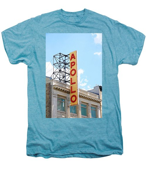 Apollo Theater Sign Men's Premium T-Shirt by Valentino Visentini
