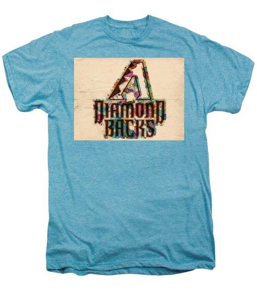 Arizona Diamondbacks Poster Vintage Men's Premium T-Shirt by Florian Rodarte