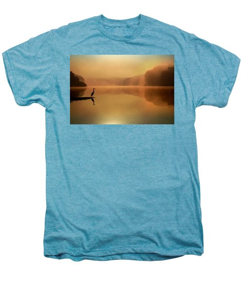 Beside Still Waters Men's Premium T-Shirt by Rob Blair