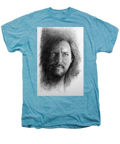 Black And White Vedder Men's Premium T-Shirt by William Walts