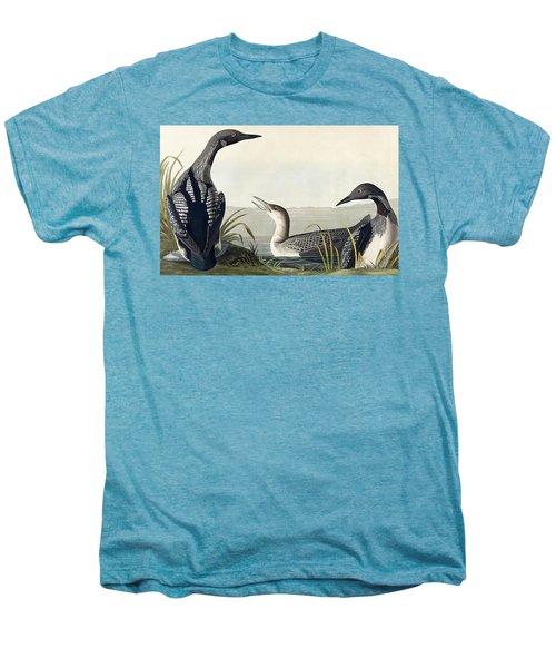Black Throated Diver  Men's Premium T-Shirt by John James Audubon