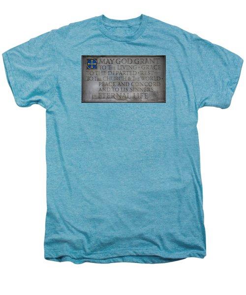 Blessing Men's Premium T-Shirt by Stephen Stookey