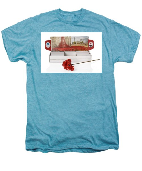 Blood Swept Lands And Seas Of Red Men's Premium T-Shirt by Amanda Elwell