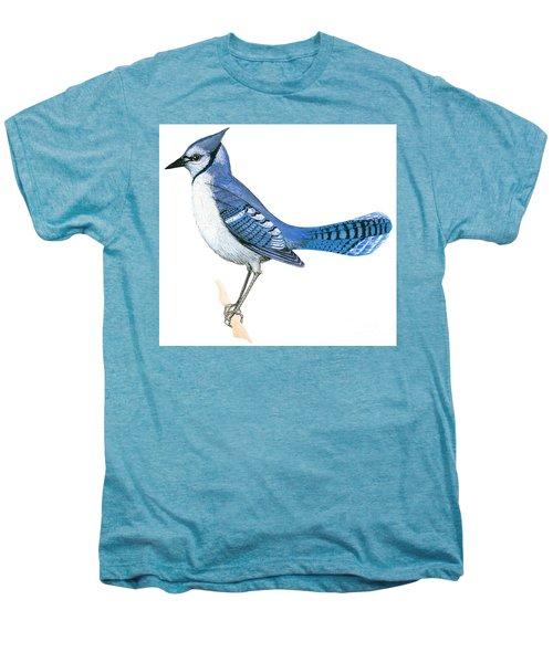 Blue Jay  Men's Premium T-Shirt by Anonymous