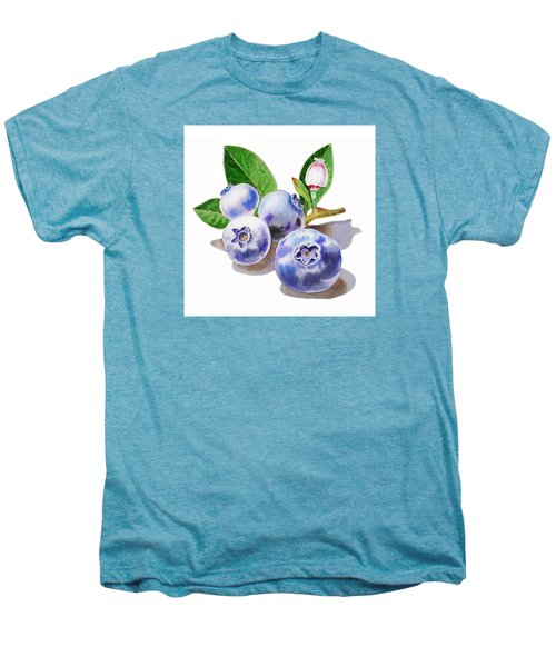 Artz Vitamins The Blueberries Men's Premium T-Shirt by Irina Sztukowski