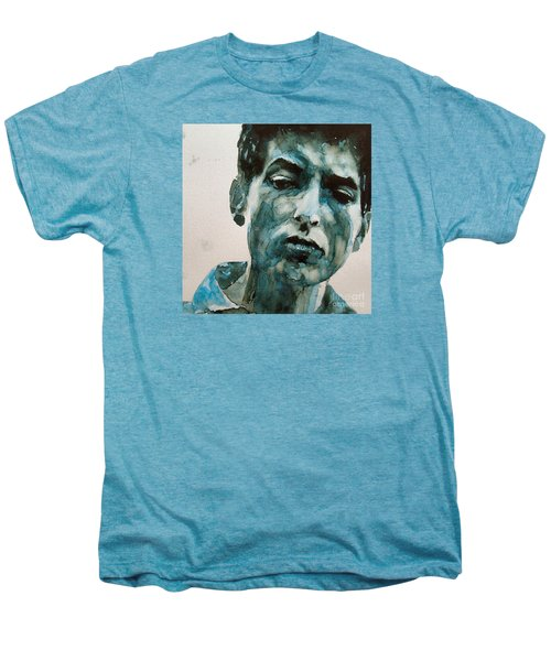 Bob Dylan Men's Premium T-Shirt by Paul Lovering