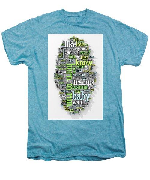 Born To Run Men's Premium T-Shirt by Scott Norris