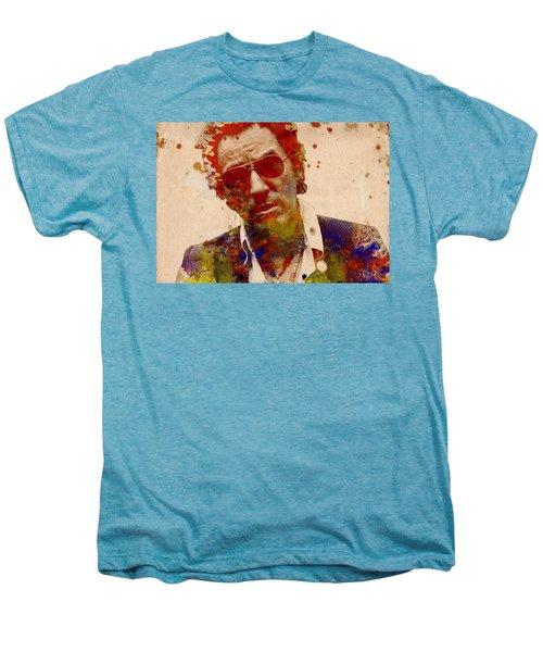 Bruce Springsteen Men's Premium T-Shirt by Bekim Art