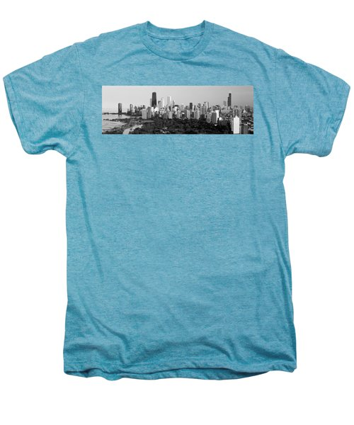 Buildings In A City, View Of Hancock Men's Premium T-Shirt by Panoramic Images