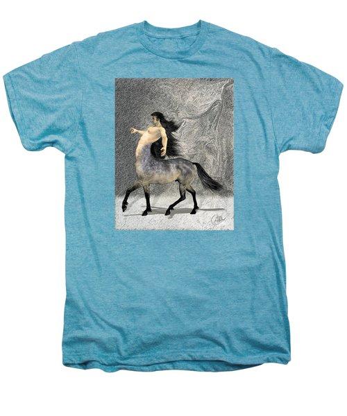 Centaur Men's Premium T-Shirt by Quim Abella