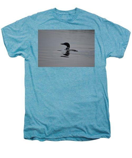 Common Loon Men's Premium T-Shirt by James Petersen